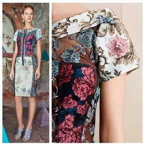 Beguile by Byron Lars Piece Brocade Dress
